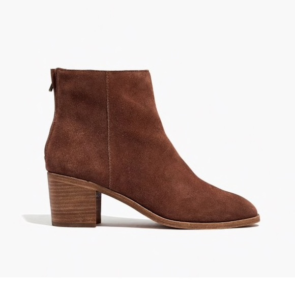 aa87778d57af8 Madewell Shoes - Madewell Paulina Suede Bootie
